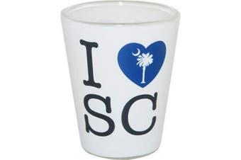 (South Carolina) - I Love South Carolina ShotGlass Drinking Cup Great Gift Item