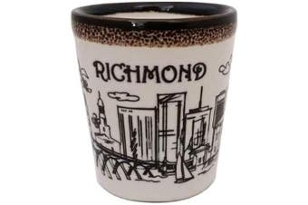 (Richmond) - American Cities and States of Cool Shot Glass's (Richmond)