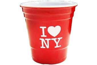 (Red) - American Cities and States of Cool Shot Glass's (New York Shot Glass)
