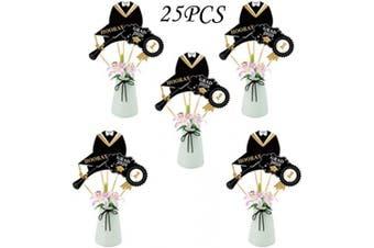 25PCS Graduation Party Table Centrepieces - Graduation Party Supplies Decorations Desktop Decor