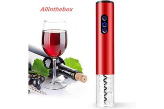 Allinthebox Electric Wine Bottle Opener, Premium Stainless Steel Electric Corkscrew USB Electric Rechargeable Wine Opener Cordless Automatic Wine Opener with Foil Cutter Charger for Home,Party,Bar