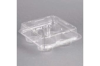 1/3 Dozen Cupcake Container (4 cavities), 25 ct.