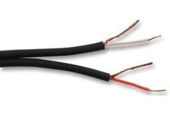 Cable-Core Screened Speaker Cable Black for Home or Car Audio Hifi Stereo Surround Sound Wire Per 5 metres 5m