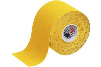 (Yellow) - BB Sport 1 Roll Kinesiology Tape 5 m x 5 cm E-Book Application Examples Muscle Support Elastic Strapping Tape, Colour:Yellow
