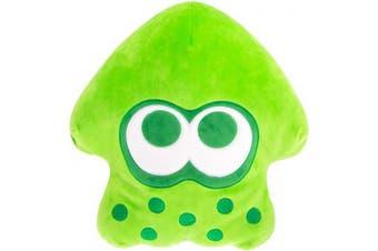 Club Mocchi Mocchi Splatoon 2 Mega Neon Green Inkling Squid Plush Stuffed Toy