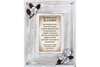 (Marriage) - LoveLea Down Home Collection Tabletop Frame, Marriage