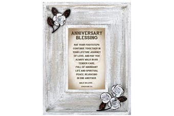 (Anniversary) - LoveLea Down Home Collection Tabletop Frame, Anniversary