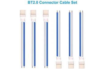 (BT2.0 Cable) - BETAFPV 6pcs BT2.0 Connecoter 55mm 22AWG FPV Male Cable for for FPV 1S TinyWhoop Drone Blade Inductrix