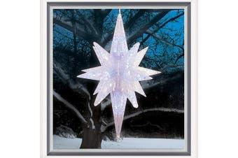 Brite Star 3D Bethlehem Star Lights, Clear