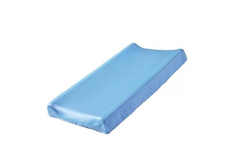 (Blue) - Pro Goleem Satin Changing Pad Cover Great for Baby Hair Blue Unisex Changing Table Sheet