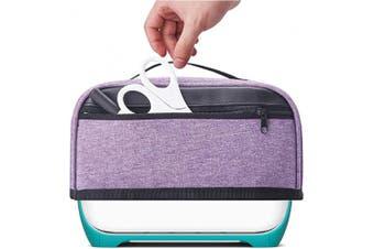 (Light Purple) - BGD-DG Dust Cover with Pockets Compatible with Cricut Joy Machine, Cricut Joy Starter Tool Set, Dust and Fingerprint Protection, Light Purple (Cover Only)