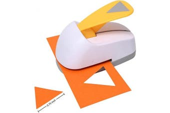 (Triangle) - Craft Lever Punch 1.9cm Triangle Punch DIY Handmade Paper Punch(1.9cm Triangle)