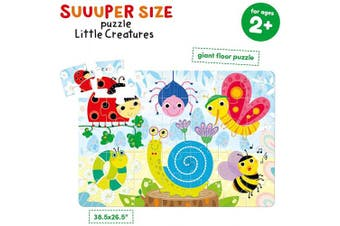 (Little Creatures) - Banana Panda - Suuuper Size Puzzle Little Creatures - Large Jigsaw Floor Puzzle for Kids . and Up
