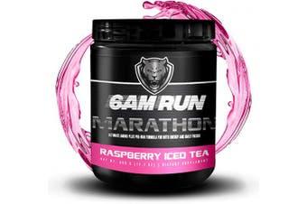 (Raspberry Ice Tea) - Essential Amino Energy Powder - Raspberry Iced Tea - Muscle Tea - Sprint Run - Marathon Energy - Pre Workout For Runners - Preworkout For Running - Runners Pre Workout - 6am Run Marathon- 40 Scoops