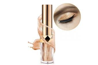 Liquid Eyeshadow Glitter Liquid Eye Shadow Waterproof Long Lasting Pink Gold Shimmer Eyeshadow Sequins for Shiny and Sparkling Eyes Makeup