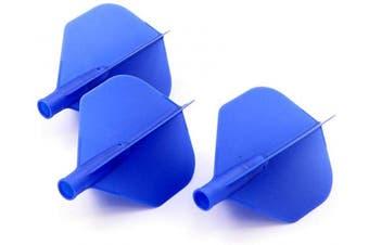 (Dark blue) - CUESOUL TERO AK4 Standard Dart Flights with 7 Colours,Set of 3 pcs (Black)