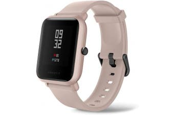 (Pink) - Amazfit Bip Lite by Huami with 45-Day Battery Life,24/7 Heart Rate 3cm Always-on Touchscreen 3 ATM, Pink