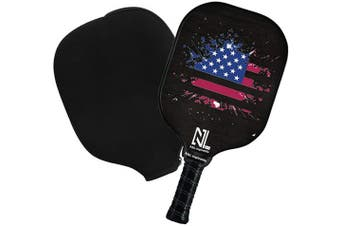 Pickleball Paddle set , Graphite Pickleball set or single,Lightweight Graphite Pickleball Racket Polypro Honeycomb Composite Core with Comfort Grip.Men Women Kids Indoor Outdoor. (black-single)