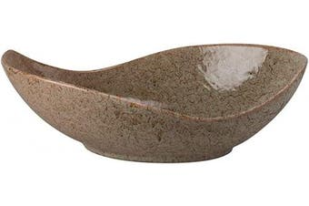 (41cm , Tiger Eye) - 10 Strawberry Street Whittier Canoe Bowl, 41cm , Tiger Eye