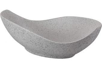 (41cm , Blue Speckle) - 10 Strawberry Street Whittier Canoe Bowl, 41cm , Blue Speckle