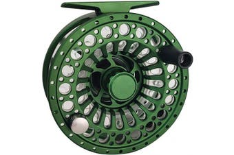 (Green) - Z Aventik ECO Cassette CNC Machined Aluminium 5/7 Fly Reel with Two Extra Spools