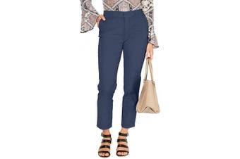(4, New Uniform Blue) - Style & Co. Womens Pants