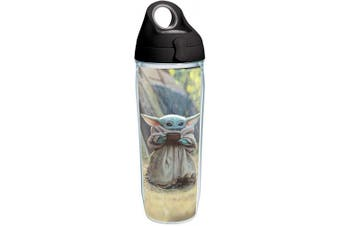 (710ml Water Bottle, Clear - Tritan) - Tervis Mandalorian - The Child Sipping Insulated Tumbler, 710ml Water Bottle, Clear - Tritan