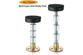 (84-110mm) - Alltripal Adjustable Threaded Bed Frame Anti-Shake Tool for Bed (84-110mm)