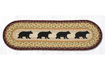 (Cabin Bear) - Earth Rugs Stairtread
