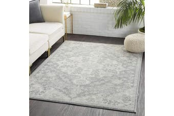(0.6m x 0.9m, Charcoal) - Artistic Weavers Odelia Updated Traditional Rug Charcoal 0.6m x 0.9m
