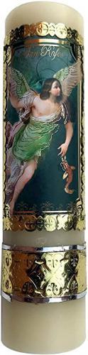 Archangel Saint Uriel Archangel Candle Protection Angel Vela Arcangel