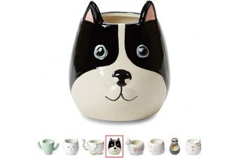 (French Bulldog) - Tri-Coastal Design Small Cute Scented Wax Candles: Ceramic Candle for Aromatherapy, Stress Relief and Relaxation - Calming Aroma Scented Luxury Candle - French Bulldog - 350ml