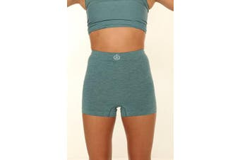 (M/L, Teal) - Comfizz Light Support Boxers High Rise Waist – Unisex (M/L, Teal)