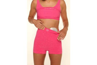 (XL/2XL, Pink) - Comfizz Light Support Boxers High Rise Waist – Unisex (XL/2XL, Pink)