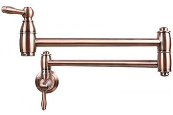 (AK288) - Copper Wall-Mounted Pot Filler Faucet - 5 Years Warranty Akicon