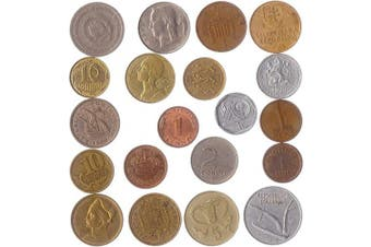(20 COINS FROM DIFFERENT EUROPEAN COUNTRIES) - 20 Different Coins from Different European Countries