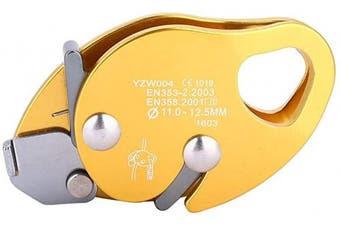 MAGT Rope Descender Self-braking Stop Descender For 11-12.5mm Rope Clamp Grab Rescue Rappel Ring Climbing Gear