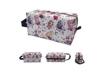 (Animal Crossing) - Makeup Bag Cosmetic Toiletry Travel Bag Organiser Animal Crossing Pouch For Women Men
