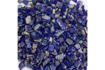 (Lapis) - Cherry Tree Collection 0.2kg Polished Tumbled Gemstone Chips| Crystals for Decoration, Healing, Reiki, Chakra (Lapis)