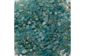 (Amazonite) - Cherry Tree Collection 0.2kg Polished Tumbled Gemstone Chips| Crystals for Decoration, Healing, Reiki, Chakra (Amazonite)