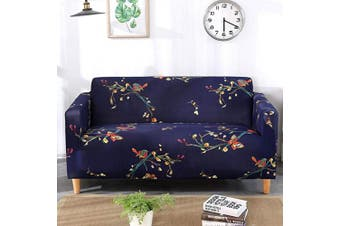(Loveseat, Pattern #29) - nordmiex Printed Stretch Sofa Slipcover - 1 Piece Elastic Polyester Spandex Couch Covers- Universal Fitted Sofa Slipcover Furniture Protector (Loveseat Sofa,Bird)