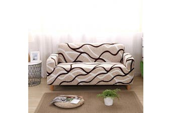 (Sofa-4 Seater, Pattern #25) - nordmiex Stretch Sofa Slipcovers Fitted Furniture Protector Printed Sofa Covers Stylish Fabric Couch Cover with 2 Pillowcases for 4 Cushion Couch(Sofa-4 Seater,Printed #016)