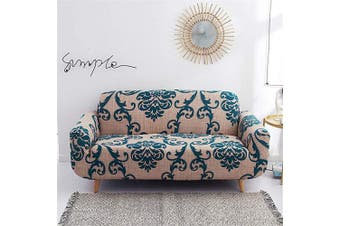 (Loveseat, Pattern #34) - nordmiex Printed Stretch Sofa Slipcover - 1 Piece Elastic Polyester Spandex Couch Covers- Universal Fitted Sofa Slipcover Furniture Protector (Loveseat Sofa,European Style),Pattern #34