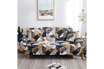 (Loveseat, Pattern #36) - nordmiex Printed Stretch Sofa Slipcover - 1 Piece Elastic Polyester Spandex Couch Covers- Universal Fitted Sofa Slipcover Furniture Protector (Loveseat Sofa,Puzzle),Pattern #36
