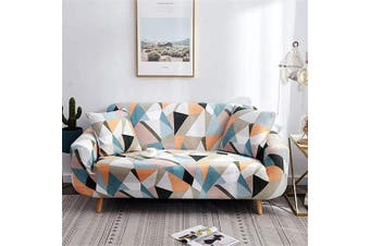 (Sofa-4 Seater, Pattern #37) - nordmiex Pattern Sofa Slipcover Stretch Arm Chair Large Sofa Slipcover Leather Furniture Protector for 4-Seat Sofa,Story,Pattern #37