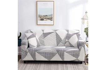 (Loveseat, Pattern #45) - nordmiex Printeded Stretch Sofa Slipcover - 1 Piece Elastic Polyester Spandex Couch Covers- Universal Fitted Sofa Slipcover Furniture Protector (Loveseat Sofa,Printeded#00P)