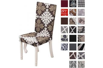 (4 Per Set, Color 31) - Dining Chair Cover Seat Protector Super Fit Slipcover Stretch Removable Washable Soft Spandex Fabric for Home Hotel Dining Room Ceremony Banquet Wedding Party Restaurant (Colour 31, 4 Per Set)