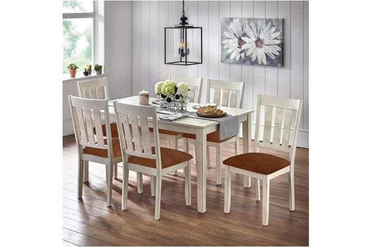 Smiry Original Velvet Dining Chair Seat, Dining Room Seat Covers With Ties