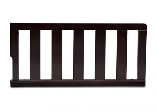 Dark Chocolate Delta Children Daybed//Toddler Guardrail Kit