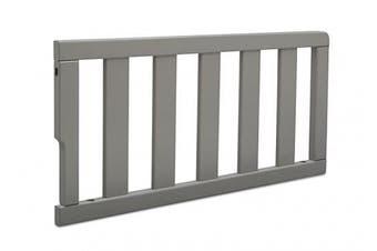 (Grey) - Delta Children No.0096 Daybed/Toddler Guardrail Kit, Grey